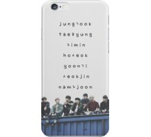 BTS phone case #12 iPhone Case/Skin
