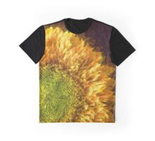 Sunflower Pencil Graphic T-Shirt