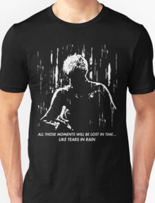 Blade Runner - Like Tears in Rain Unisex T-Shirt