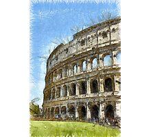 Colosseum Or Coliseum Pencil Photographic Print