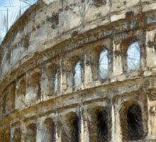 Colosseum Or Coliseum Pencil Sticker