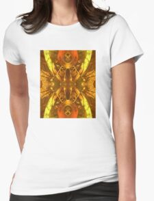 Rusty Alien Womens Fitted T-Shirt