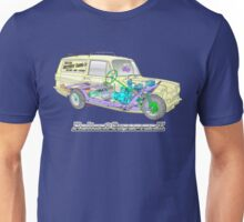 Reliant Regal Supervan from Only Fools and Horses Unisex T-Shirt