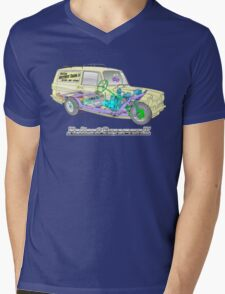 Reliant Regal Supervan from Only Fools and Horses Mens V-Neck T-Shirt