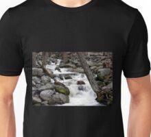 Bridalveil Creek, Below the Falls Unisex T-Shirt
