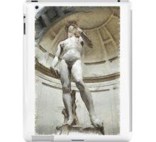 David by Michelangelo Pencil iPad Case/Skin