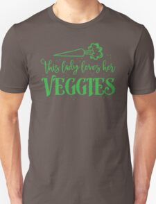 this lady loves her vegetables T-Shirt