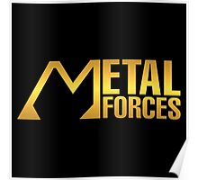 Gold Metal Forces Poster