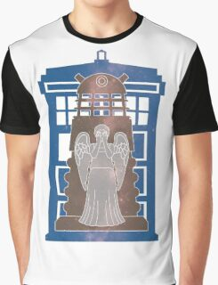 Doctor Who silhouettes Graphic T-Shirt