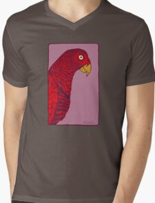 The Red Bird Mens V-Neck T-Shirt