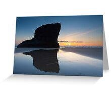 Bedruthan Steps Cornwall England  Greeting Card