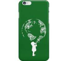 Earth Child (white) iPhone Case/Skin