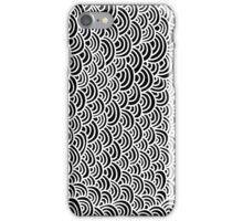 Scale seamless pattern iPhone Case/Skin