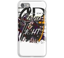 Stand and Fight iPhone Case/Skin