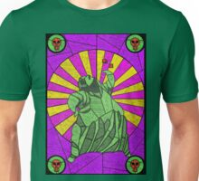 Sackcloth and bugs - stained glass villains Unisex T-Shirt
