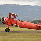 "Stearman ""Lilly Warra"",Albion Park Airshow,Australia 2016  by muz2142"