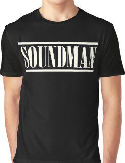 Soundman White Graphic T-Shirt