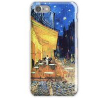 Vincent van Gogh - The Cafe Terrace on the Place de Forum in Arles at Nigh iPhone Case/Skin