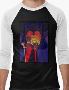The most trusted advisor - stained glass villains Men's Baseball ¾ T-Shirt