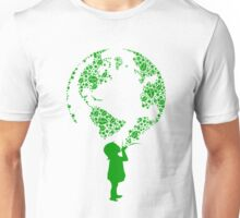 Earth Child (green) Unisex T-Shirt