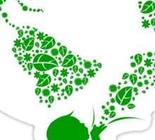 Earth Child (green) Sticker
