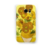 Vincent van Gogh - Still Life - Vase with Fifteen Sunflowers Samsung Galaxy Case/Skin
