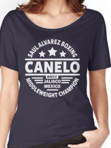 Saul Canelo Alvarez Boxing Women's Relaxed Fit T-Shirt