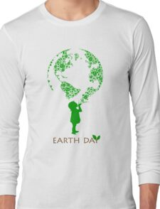 Earth Day Child Long Sleeve T-Shirt