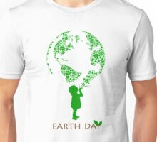 Earth Day Child Unisex T-Shirt