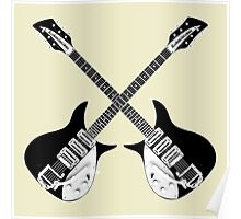 Rickenbacker Guitars Poster