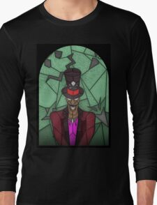 Voodoo Doctor - stained glass villains Long Sleeve T-Shirt
