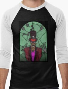 Voodoo Doctor - stained glass villains Men's Baseball ¾ T-Shirt