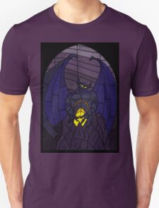 Demon in the mountain - Stained glass villains Unisex T-Shirt