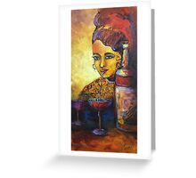 Just a sip Greeting Card