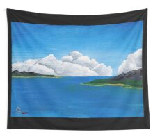 Acrylic Islands Wall Tapestry