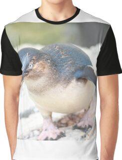 Curious Penguin Graphic T-Shirt