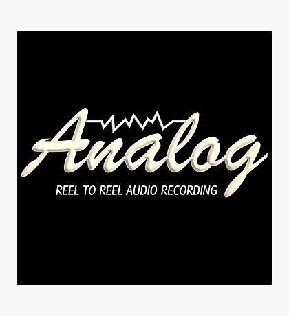 Analog Reel To Reel Photographic Print