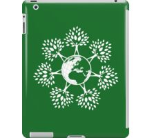 Earth Tree People (white) iPad Case/Skin