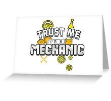 Mechanic Greeting Card