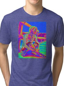 Blue Sky Tri-blend T-Shirt