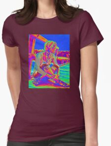 Blue Sky Womens Fitted T-Shirt