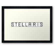 stellaris Framed Print
