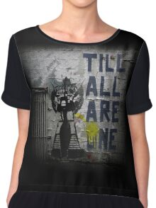 Rumble - Til All Are One Chiffon Top