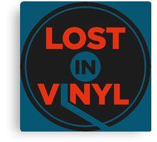 Lost In Vinyl Canvas Print