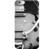 Gibson Electric Guitar Monochrome  iPhone Case/Skin