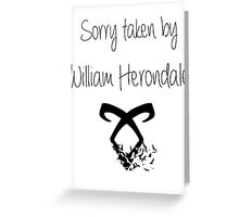 The Infernal devices Greeting Card