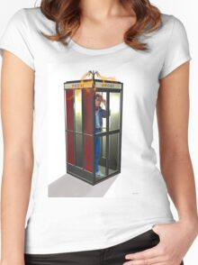 Bill, Ted & Marty ! Back to the Future / Excellent Adventure Mash! Women's Fitted Scoop T-Shirt