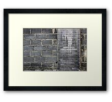 yesterday reconized - today atchieved Framed Print