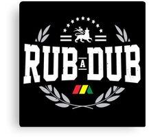 Rub - A - Dub Canvas Print