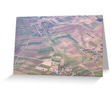 Austria from Above Greeting Card